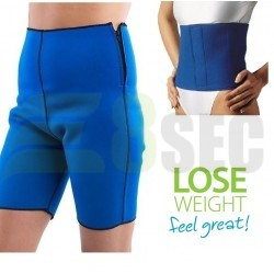 Pantalon SB neopren pentru slabit + Centura neopren pentru slabit reglabila de la S la XL