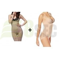 Body modelator cu efect push up! + Costum modelator cu efect de slabire Slim Body