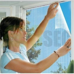 Set 3 X Plasa impotriva insectelor pentru fereastra 150x130 cm